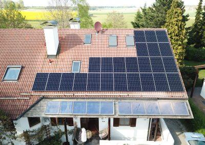 Photovoltaikanlage in 86928 Hofstetten