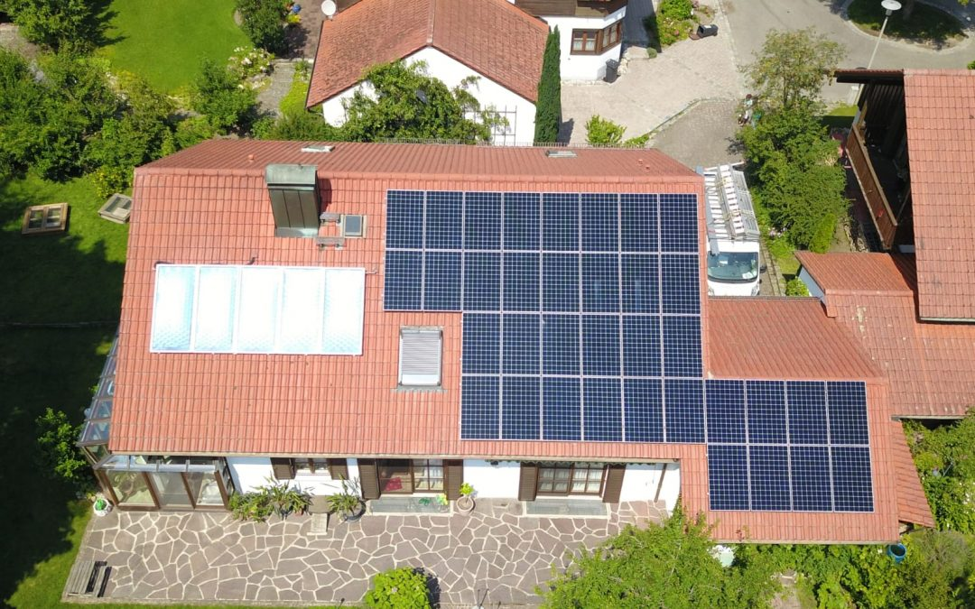 Photovoltaikanlage in 85435 Erding