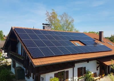 Photovoltaikanlage in 83417 Kirchanschöring